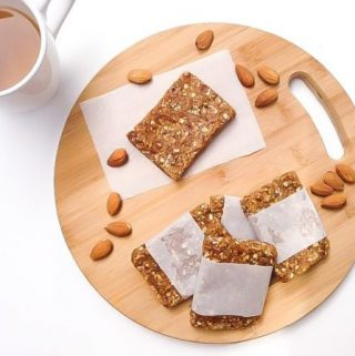 Healthy Almond Energy Bar