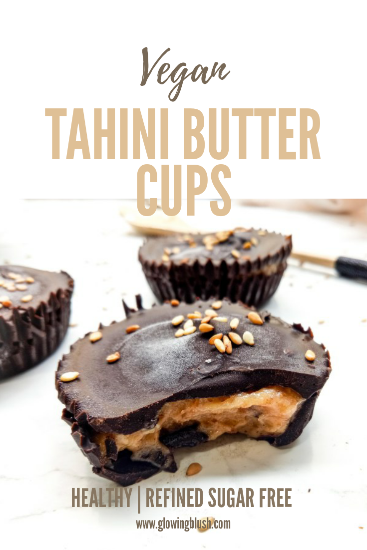 No-Bake Healthy Tahini Butter Cups Recipe