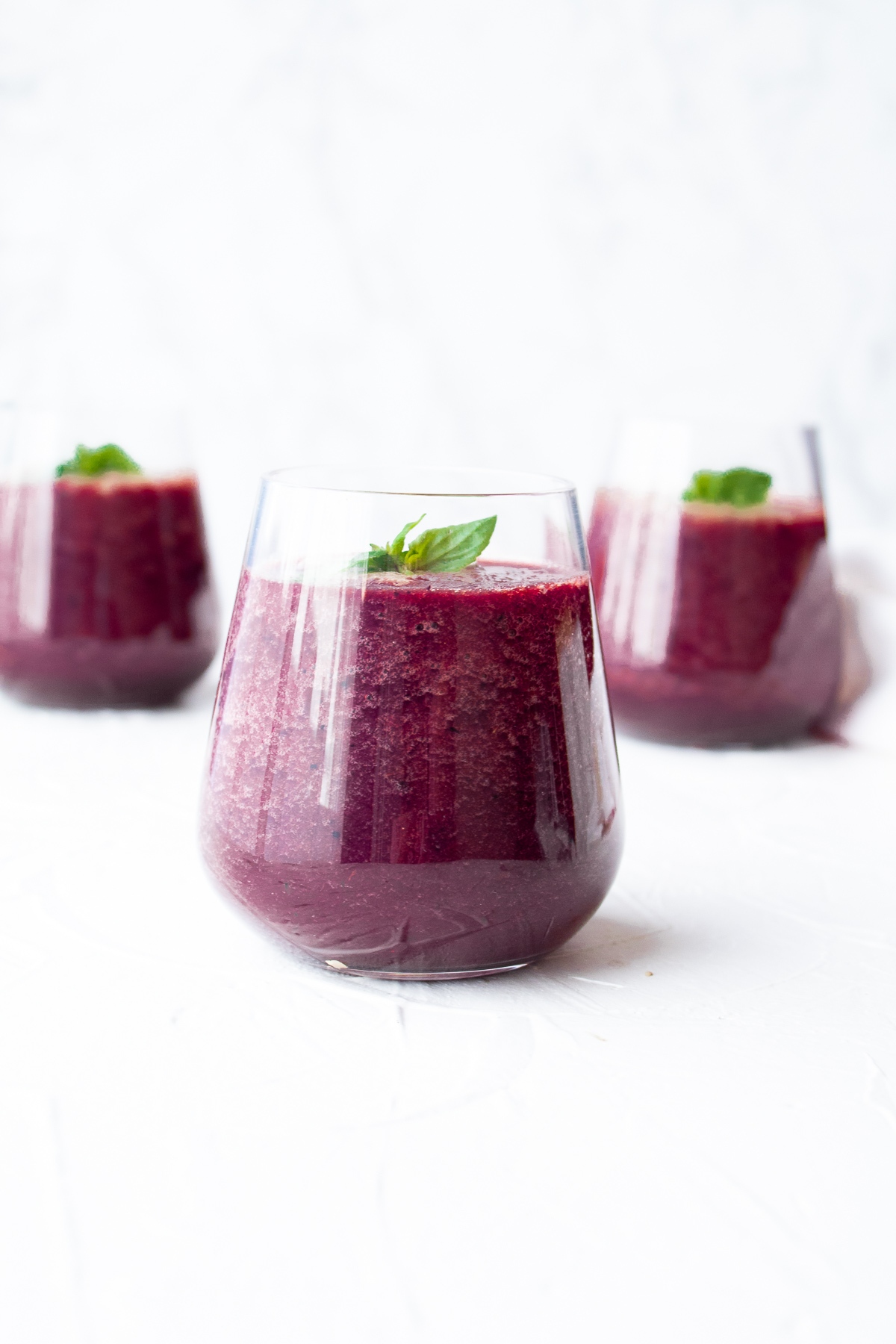 Sweet Spinach Beet Smoothie