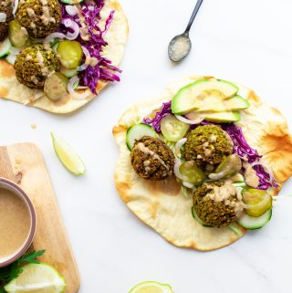 The Best Oven-Baked Falafel - Oil-Free