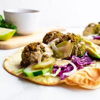 The Best Oven-Baked Falafel - Oil-Free