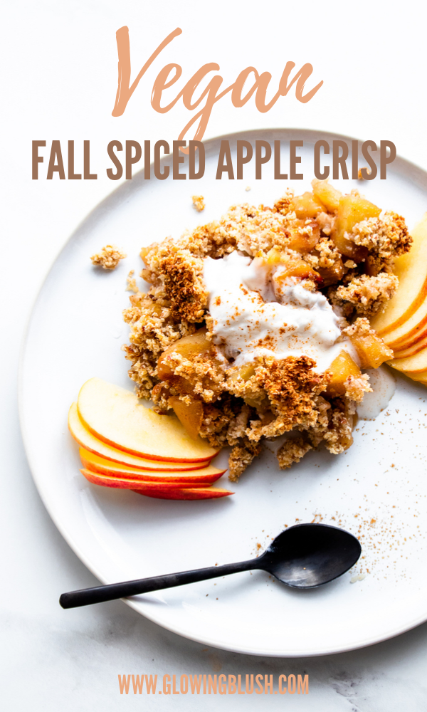 Easy Fall Spiced Apple Crisp