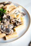 Vegan Creamy Miso Mushroom Pasta