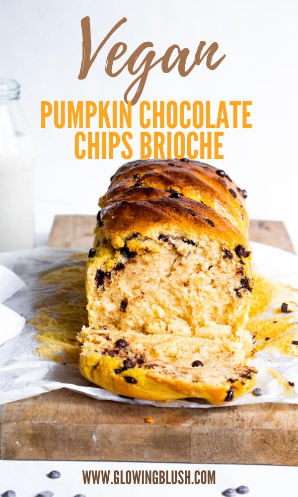Easy Pumpkin Chocolate Chips Brioche