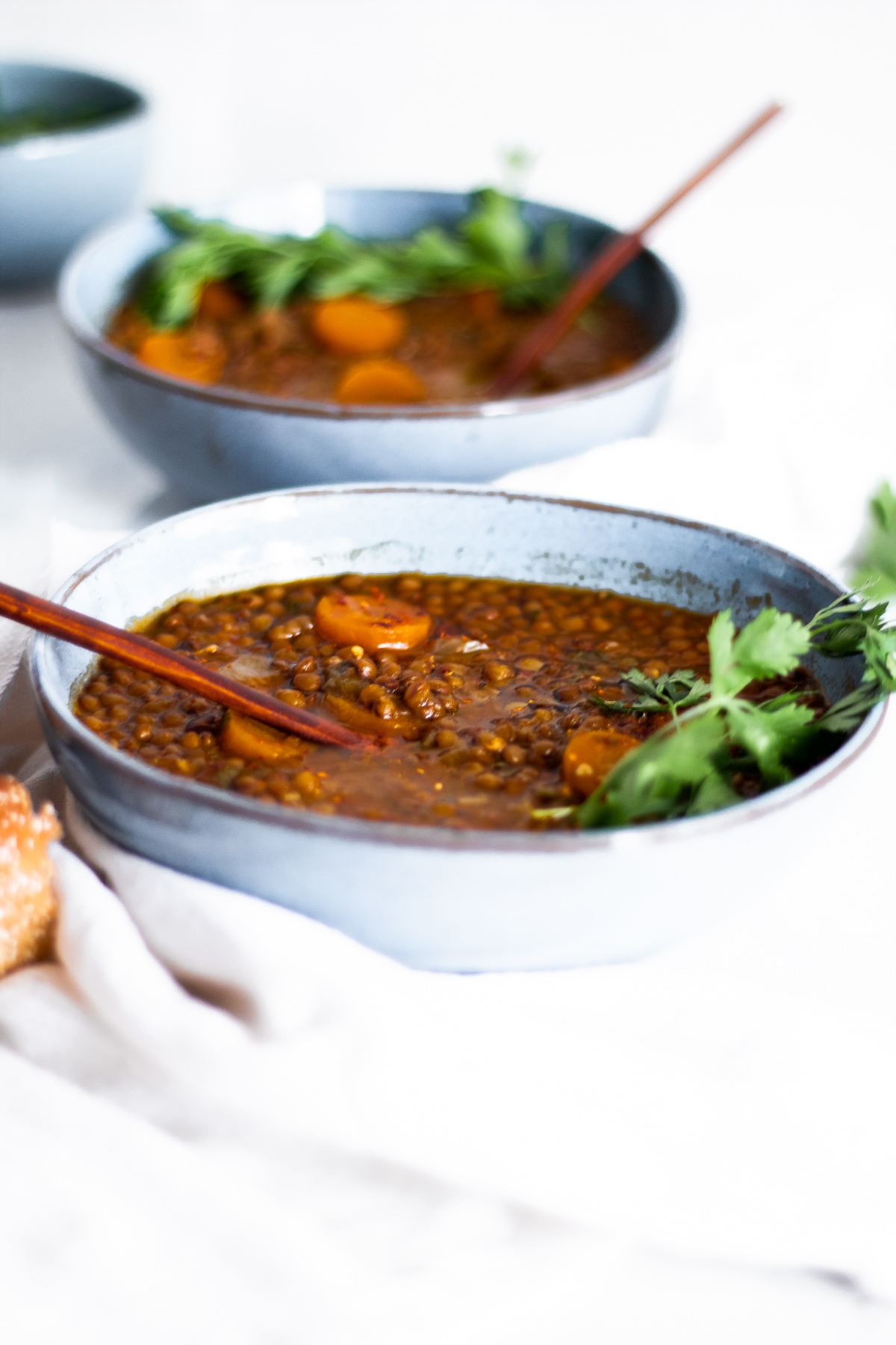 One-Pot Moroccan Lentil Soup