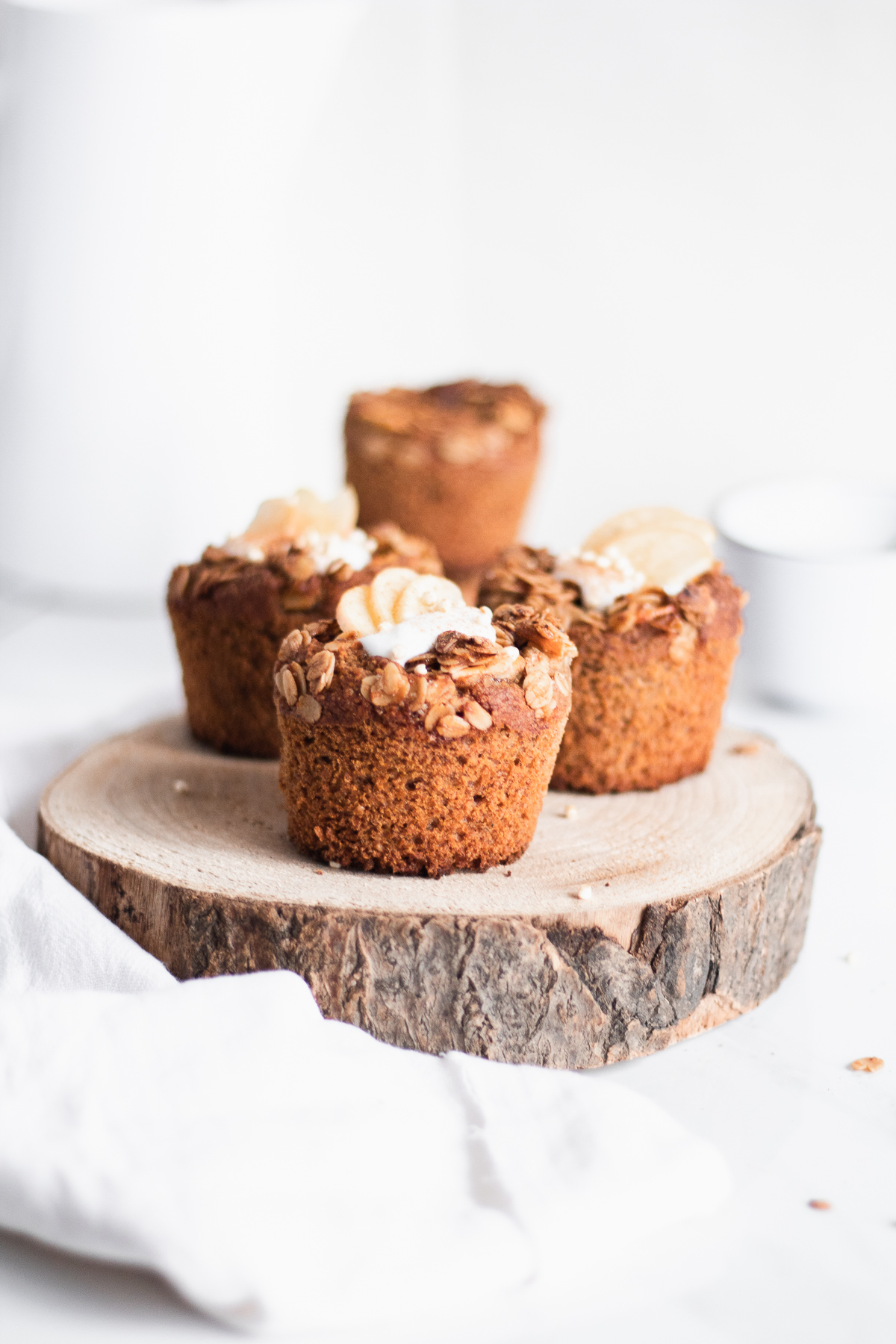 Vegan Breakfast Muffins - Apple Cinnamon