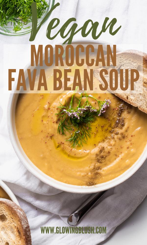 moroccan fava bean soup - bissara