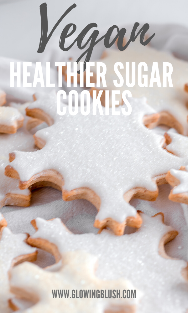 healthy vegan sugar cookies