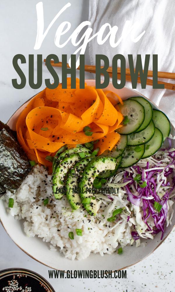 vegan sushi bowl pin