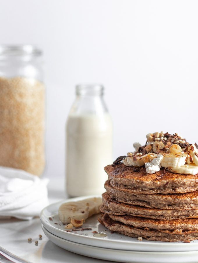 easy blender banana pancakes